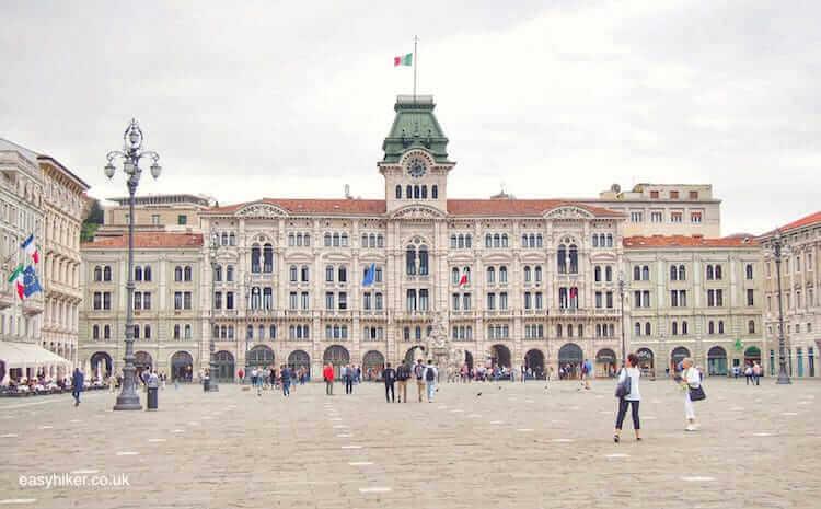 """""""Piazza della Unita in Trieste - a Different Italian Town"""""""
