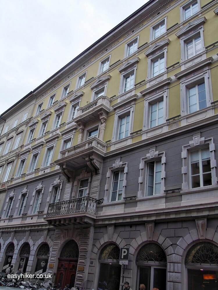 """where former flat of James Joyce was in Trieste - a Different Italian Town"""