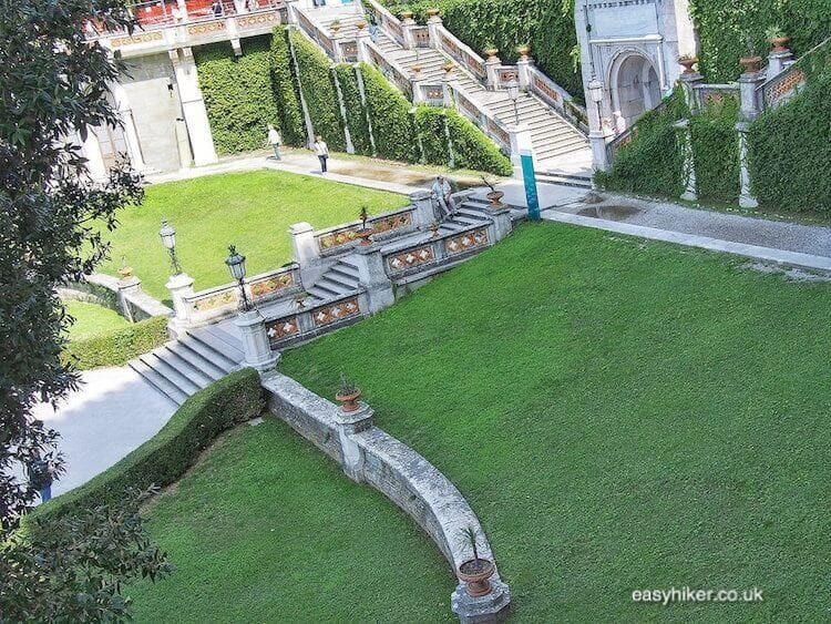 """""""eclectic gradens in the eclectic Miramare Gardens"""""""