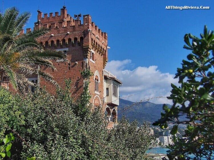 """""""Castello Türcke high up in Boccadasse"""""""