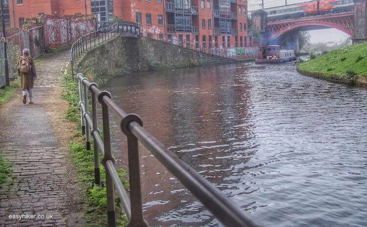 """walk along Bridgewater canal - Glory of Manchester Past Along Its Canals"""
