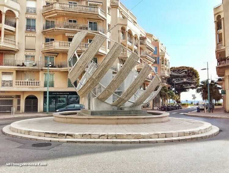 """Place St Roch - Great Writers in Menton and Monaco"""