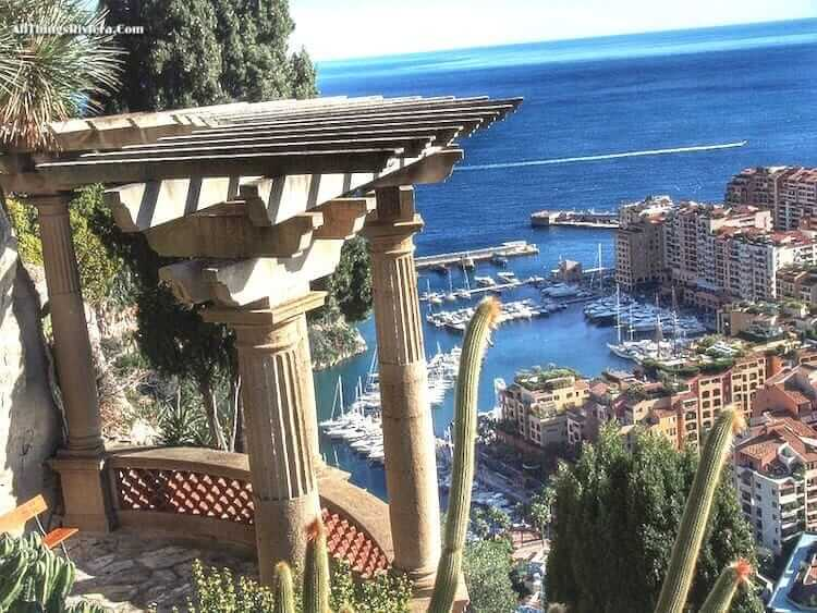 """from tropical garden - Great Writers in Menton and Monaco"""""