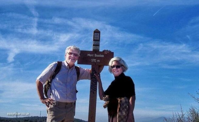 """Easy Hikers - Michael and Marlys"""