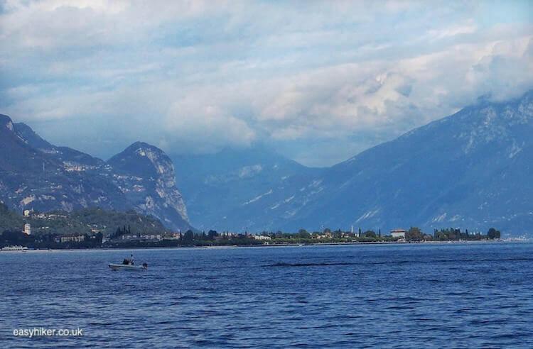"""mountains around Salo, most charming part of Lake Garda"""
