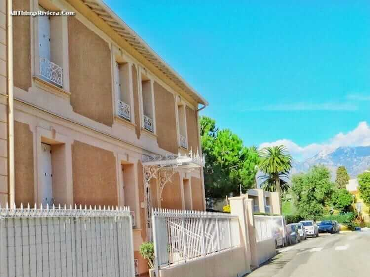 """former home of W. B. Yeats - Great Writers in Menton and Monaco"""""