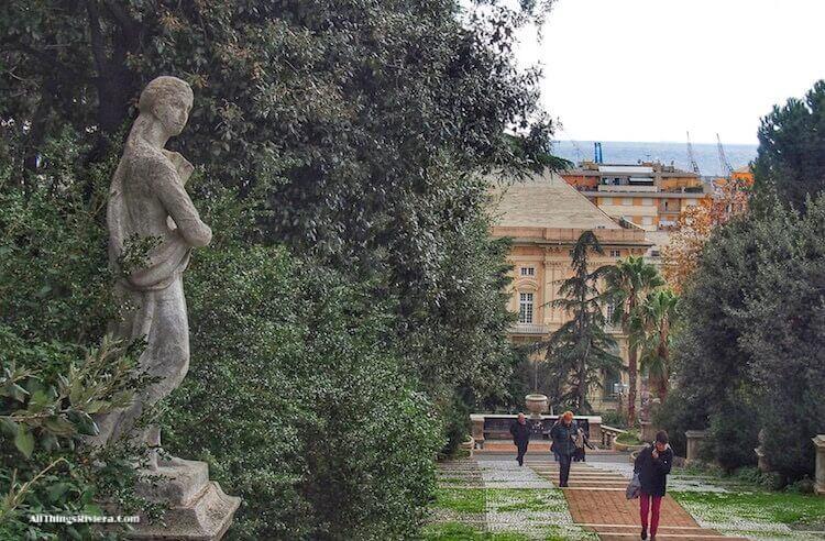 """Visit Sampierdarena When in Genoa for Villa Scassi Park"""