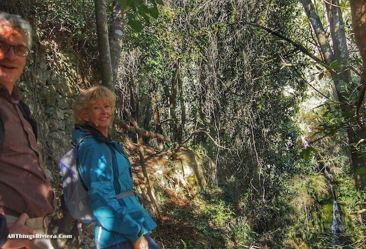 """""""Narda Besems as our guide on a Fascinating Hike in Sasso"""""""