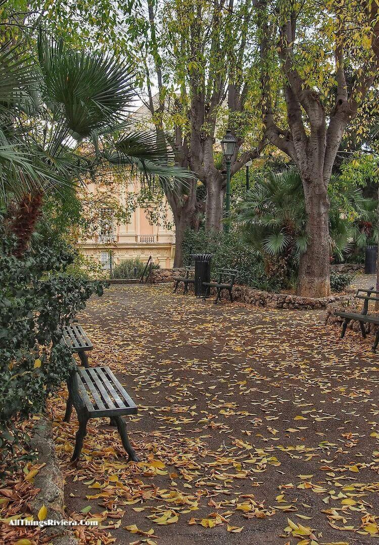 """Autumn in Scassi Park in Genoa"""