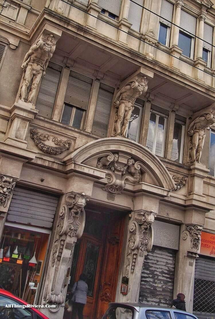 """Visit Sampierdarena When in Genoa to see its grand buildings"""