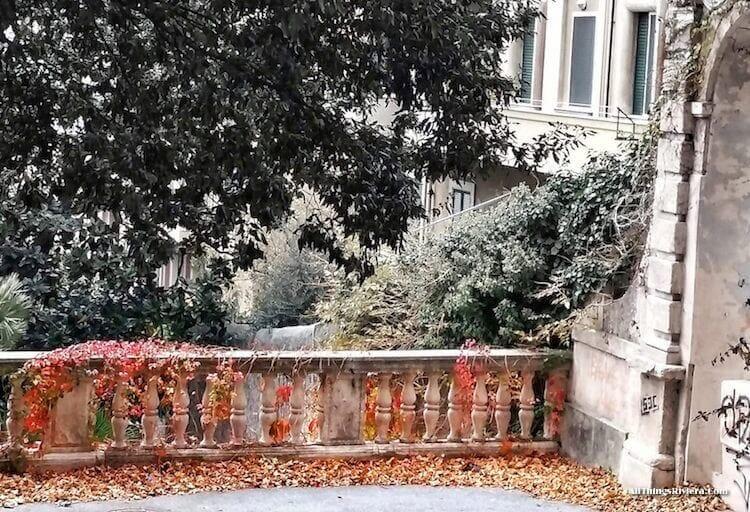"""experience autumn in Sampierdarena"""