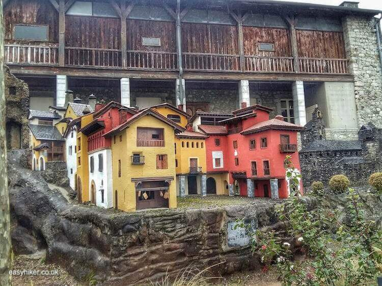 """""""replica of Pyrenean town - What Easy Hikers Can Do in Lourdes"""""""