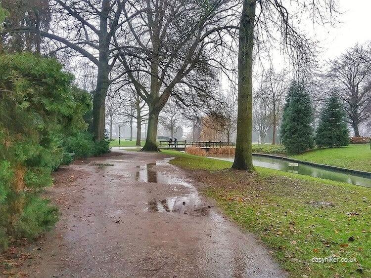 """Volkspark Enschede - brighten up Dutch Midwinter Blues"""