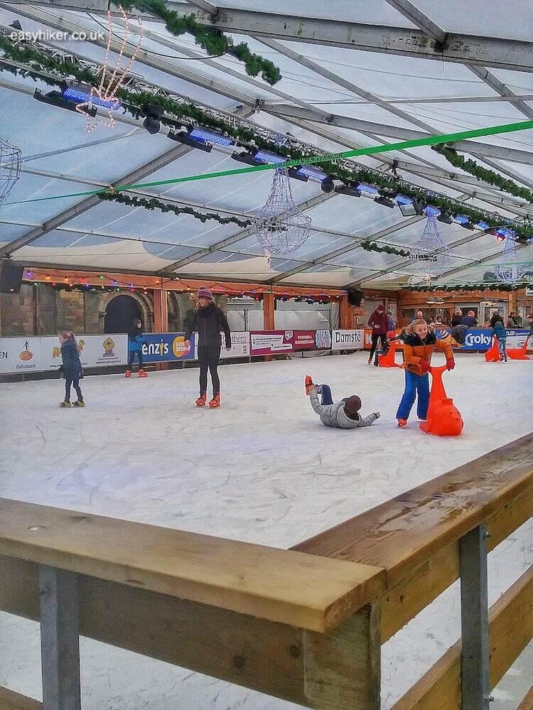 """ice skating rink - brighten up Dutch Midwinter Blues"""