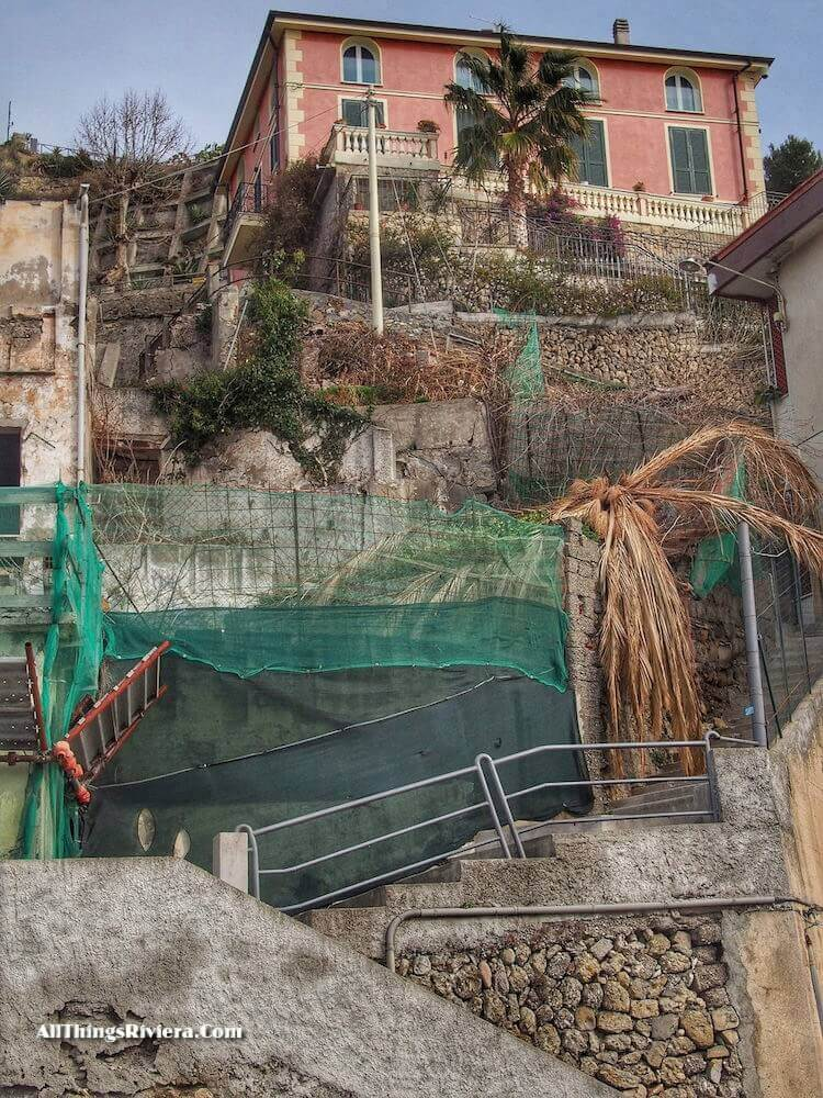 """""""stairway to seek out three ancient ruins in Ventimiglia"""""""
