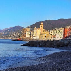 In Camogli on the Enticing East End of the Italian Riviera
